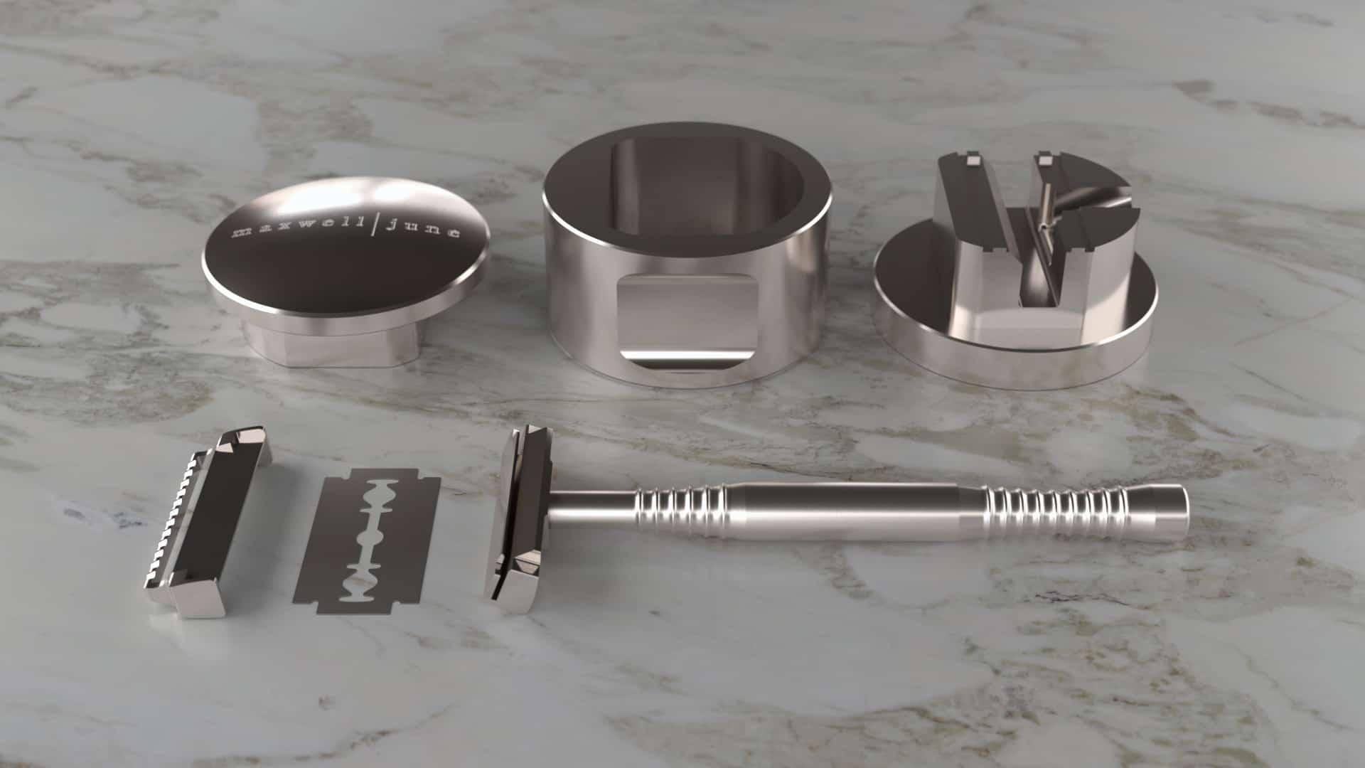 Maxwell June Twin Blade Shaving System
